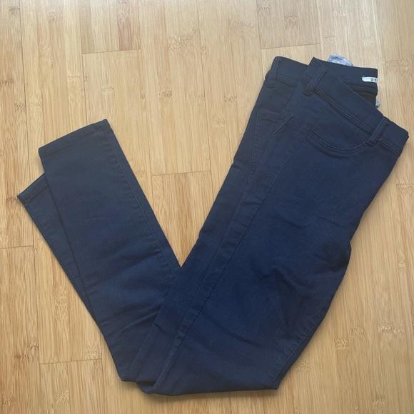 Zara Trafaluc Dark Wash Skinny Jeans